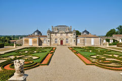 Classical castle of Malle in Gironde Royalty Free Stock Photography