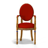 Classical chair - front view Royalty Free Stock Photography