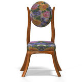 Classical chair - front view Stock Image