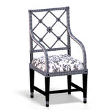 Classical chair - half side view Stock Photo