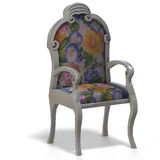 Classical chair - half side view Stock Image
