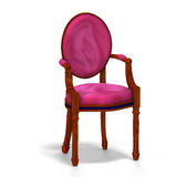 Classical chair - half side view Stock Photos