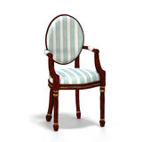 Classical chair - half side view Royalty Free Stock Photography