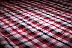 Classical checkered plaid Royalty Free Stock Photos