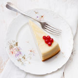 Classical Cheesecake Royalty Free Stock Photo