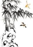 Classical China-- nature, bird Royalty Free Stock Photos