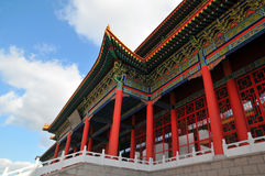 Classical Chinese architecture Royalty Free Stock Images