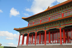 Classical Chinese architecture Stock Photo
