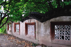 Classical Chinese walls Royalty Free Stock Photo