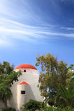 Classical church of Mykonos Stock Photography