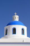 Classical church of Santorini island in Greece Royalty Free Stock Image