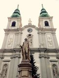 Classical church in vienna Royalty Free Stock Photography