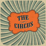 Classical Circus Card Stock Photos