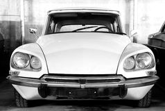 Classical Citroen DS. Royalty Free Stock Image