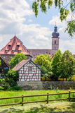 Classical City of Forchheim Stock Photo