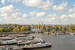 Classical city scenic from Amsterdam Netherlands Stock Image
