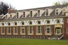 Classical college facade Royalty Free Stock Photos