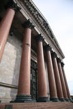 Classical colonnade Royalty Free Stock Images