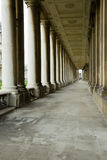 Classical colonnade Stock Image