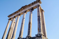 Classical column Portico Royalty Free Stock Images