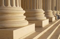 Classical Columns Stock Image