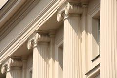 Classical columns Royalty Free Stock Photos