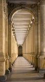 Classical columns. Photo was taken in Chez republic in December 2007 Stock Photography