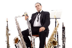 Classical concert Stock Images