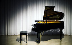 Classical Concert piano Stock Image