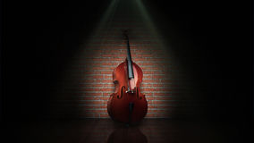 Classical contrabass Royalty Free Stock Image