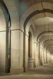 Classical corridor Stock Image