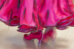 Classical dance competition, detail Stock Images