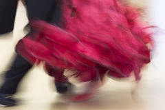 Classical dance competition, detail Royalty Free Stock Image