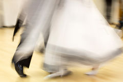 Classical dance competition, detail Stock Image