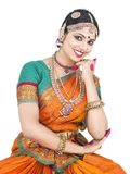 Classical dancer from india Stock Image