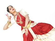 Classical dancer from india Royalty Free Stock Photography