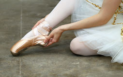 Classical dancer Stock Photography