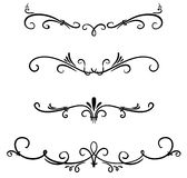 Classical decorative elements Royalty Free Stock Photo