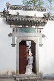 Classical door-Chinese style architecture Royalty Free Stock Image