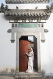 Classical door-Chinese style architecture Royalty Free Stock Photography