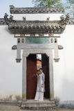 Classical door-Chinese style architecture Royalty Free Stock Photo