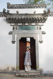 Classical door-Chinese style architecture Stock Photography