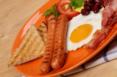 Classical English Breakfast Stock Image