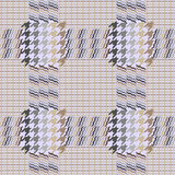 Classical English hounds tooth print. Stock Image