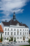 Classical european town hall. Town hall in Valtice, Valtice-Lednice area, Czech Republic Royalty Free Stock Photography