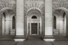 Classical exterior Stock Image