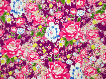Classical Fabric with floral Pattern background Royalty Free Stock Photos