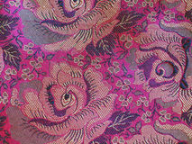 Classical Fabric with Pattern Stock Photo