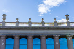 Classical facade Stock Images