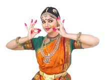 Classical female dancer from india Stock Image
